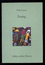 LARSEN NELLA PASSING SELLERIO 1995 I° EDIZ. IL CASTELLO 76
