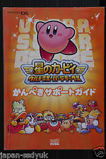 JAPAN Kirby Super Star Ultra Perfect Support Guide book OOP