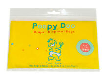 Poopy Doo Diaper Disposal Bags In Resealable Pouch