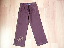 Pantalon doublé violet foncé 5 ans La C° DES PETITS - comme NEUF juste lavé