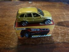 Matchbox Superfast: No.14. BMW X5. Scarce Gold model with Fine Original Box.