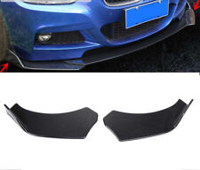 2x Carbon Fiber Style Car Front Bumper Splitter Lip Body Protector Diffuser Kit