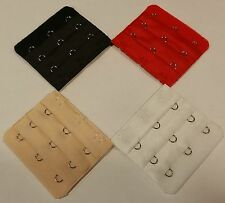 Lot of 4 Bra Extender  Set of 4 Extenders 3 Hooks Extensions  Free Shipping