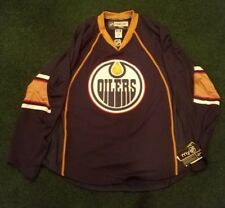 Edmonton Oilers Authentic Home Jersey REEBOK EDGE 1.0 7187 Size 54