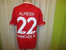 """Hannover 96 jako hogar camiseta 2015/16 """"heinz de paganos"""" + nº 22 almeida talla m nuevo"""
