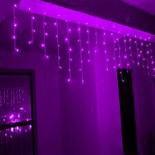5M 216LED Curtain Icicle Lights String Fairy Light Christmas Wedding Party Decor