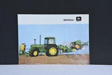 John Deere 3640 original farm tractor sales brochure with 12 pages