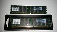 2 Kingston KT326667-041-INCE5 DDR 256MB PC-3200 Non ECC 400Mhz RAM Memory