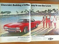 1967 Chevrolet Impala Making It Beautiful Wasnt Enough Vintage Print Ad