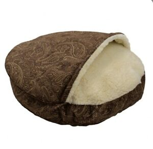 """Snoozer Luxury Cozy Cave Dog Bed  with  Microsuede - Size Small 25"""" NEW NO TAGS"""