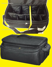 EXTRA LARGE SIZE PRO CARRYING CASE BAG to-> CAMERA NIKON D5100 D5200 D5000 D5300