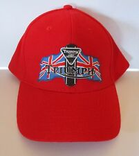 Triumph hat cap - biker motorcycle sports mens shed Quality Embroidered Design