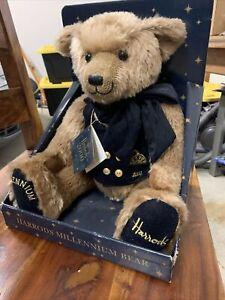 Harrods Bear Millenium 2000