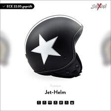 SOXON SP-301 Star B. | CASCO DEMI-JET URBANO PILOTO VESPA ECE MOTO XS S M L XL