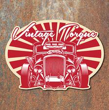 Vintage Torque Hot Rod Sticker Retro Rat Classic Car Custom Decal
