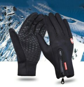 Touch Screen Winter Warm Gloves Unisex Windproof Waterproof Outdoor Sports