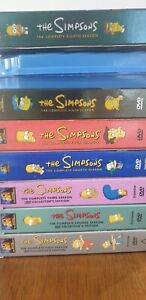The Simpsons DVD pack Seasons 1st to 8th