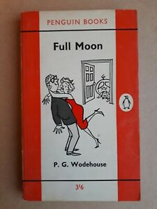 P G Wodehouse FULL MOON, FIRST Edition Penguin 1961, Excellent Condition Vintage