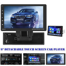 Car 9inch Detachable Touch Screen Bluetooth Car MP5 Player Android/IOS Universal