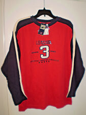 US POLO ASSN Mens Long Sleeve Shirt Crewneck (XL) Extra Large RED Brand New Tags
