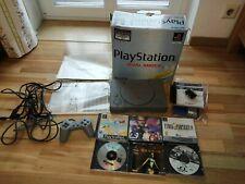 Sony PlayStation 1 / PS 1 - mit Chip Konsole SCPH 7502 C mit Spiele
