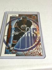 99-00 1999-00 PACIFIC DYNAGON ICE MIKE GRIER COPPER PARALLEL /99 81 OILERS