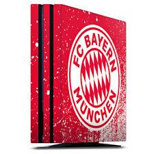 Sony Playstation 4 PS4 Pro Folie Aufkleber Skin Splatter Rot FC Bayern München