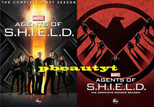 Agents of S.H.I.E.L.D.The Complete Seasons 1 -2(2 DVD Sets)1 2 Marvel's SHIELD