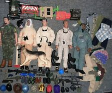 90+ Piece Lot Of Gi Joe'S Action Figures Weapons Clothes Footwear Hat'S & More.