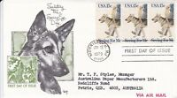 US21) United States Of America 1979 Saluting The Seeing Eye Dogs - Seeing For Me