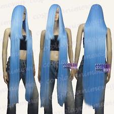 130cm Baby Blue Hi_Temp Series 55cm Extra long Bang Cosplay Wigs 99_4134