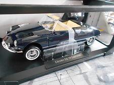 CITROEN DS 19 ds19 Cabriolet Cabrio Convertible 1961 BLUE BLU Norev NUOVO 1:18