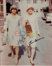Some Like It Hot - Tony Curtis & Jack Lemmon Signed 8x10 Color 'In Drag' Photo r