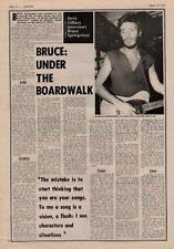 Bruce Springsteen UK Interview 1974 OBLIQUE