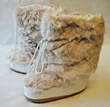 Barts Faux Fur Lined Ladies Winter Boots - White
