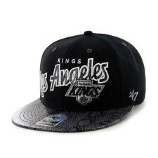 47' Brand Official Flat Brim NHL LA Kings Snapback Unisex Caps