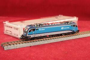 Fleischmann N 731287 CD Railjet E-Lok Rh 1216 233-7 Sound/Digital/NEU/OVP