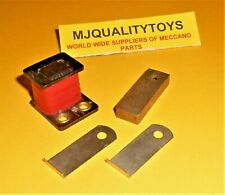 MECCANO ELEKTRIKIT PARTS 520 525 526 RECTANGULAR COIL SET x 4pcs