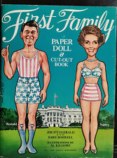 Ronald Reagan  First Family Paper Dolls Book!  New! First edition 1981!