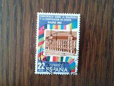 sello usado conferencia seguridad y cooperación Europa, año 1980, edif. 2592