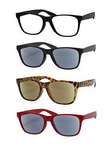 "Lesebrille Sonnenbrille Nerdbrille Lesehilfe ""CANNES""von BNS-Optik Getönt-/Basic"