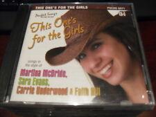 POCKET SONGS KARAOKE DISC PSCDG 6071 THIS ONE'S FOR THE GIRLS CD+G MULTIPLEX
