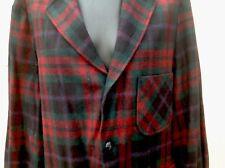 Pendleton Mens Size Large Button Front Plaid 100% Wool Long Sleeve Jacket