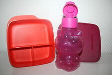 TUPPERWARE Set Eco Easy Flasche HELLO KITTY 415ml Clevere Pause Dose Früstukbox