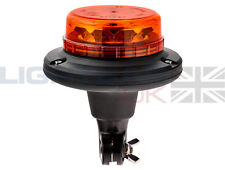 Lightbar UK Flexi DIN Mount LPB R65 Rotating Flashing Amber LED Strobe Beacon