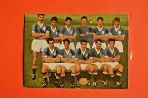 Heinerle Fußball Sammelbild/ Mannschaft Team Manchester United England ungeklebt