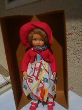 """Lenci Doll Diana Red Tag - Lenci Torino-1998 - With Box & Papers 19"""""""