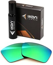 Polarized IKON Replacement Lenses For Dragon The Jam Sunglasses Green Mirror