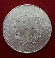 50 FRANCOS DE PLATA 1975