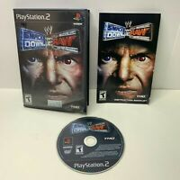 WWE SmackDown vs. Raw Sony PlayStation 2 2004 CIB Complete Video Game PS2 WWF